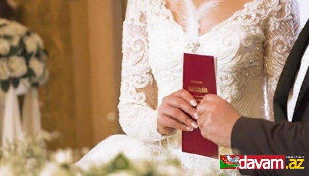 Pandemiya dövründə nikah aktı planlayanlar və gənc ailələr üçün layihə icra olunacaq