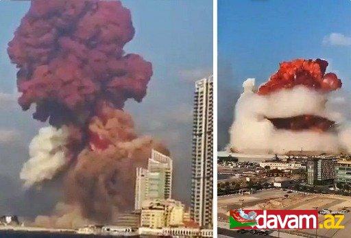 Beyrut limanındakı güclü partlayışın səbəbi məlum olub